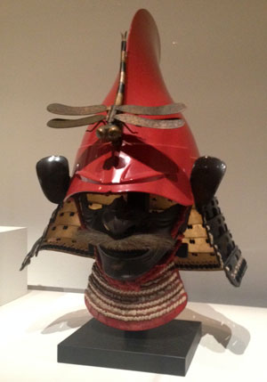 dragonfly-decorated kabuto
