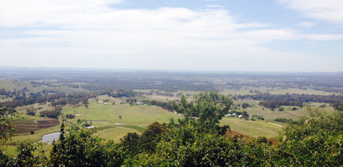 hunter valley vista