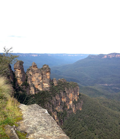 the 3 sisters at the blue mountains, sydney