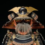 japanese samurai outfit with moustache